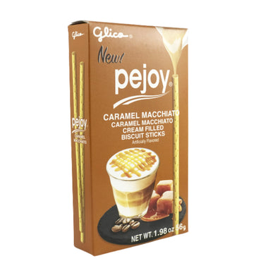Glico Pejoy Caramel Macchiato Cream Biscuit Sticks