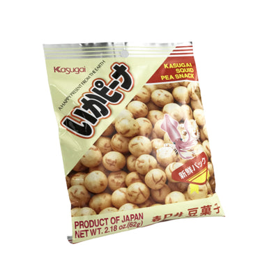 Kasugai Squid Pea Snack 2.18oz