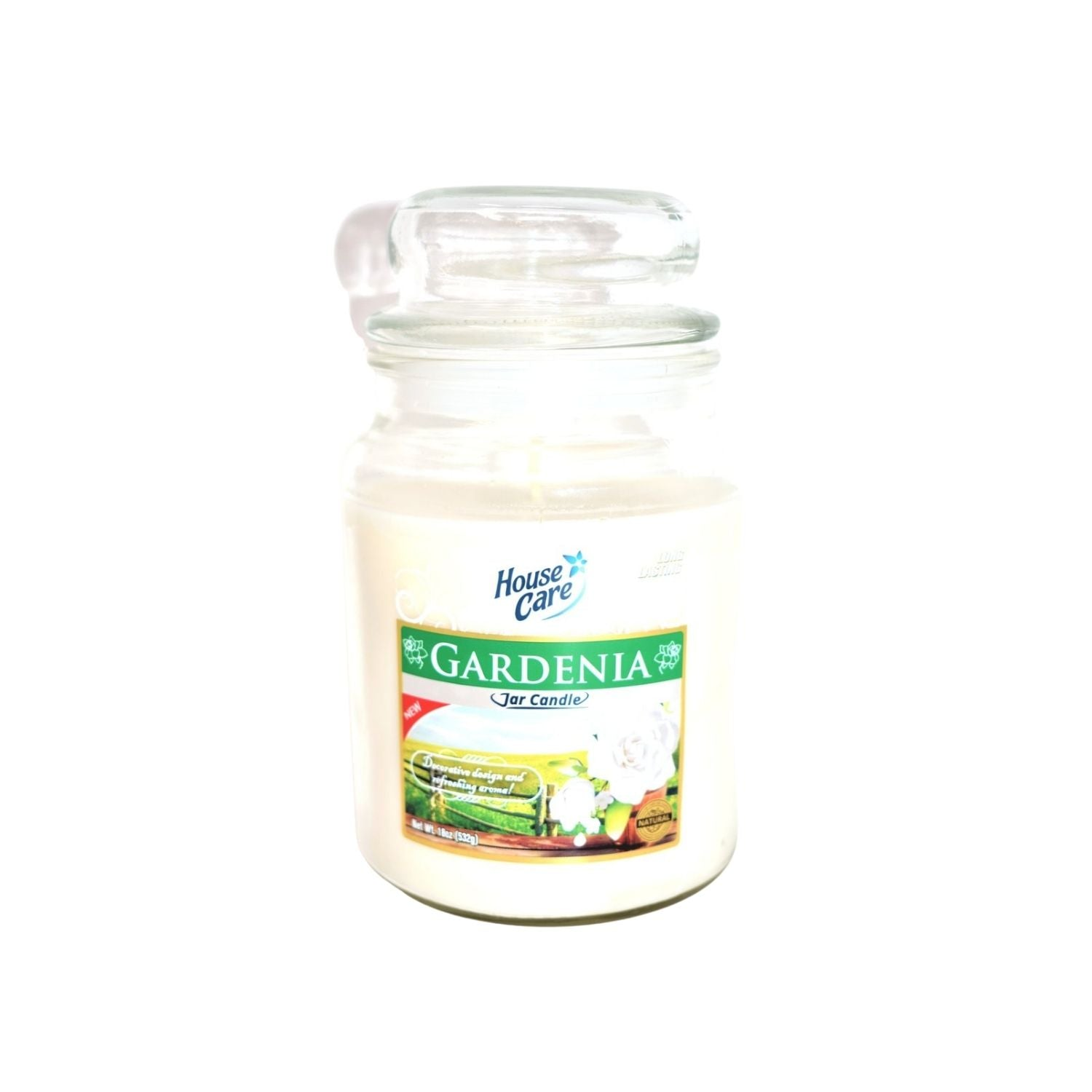 House Care Gardenia Jar Candle