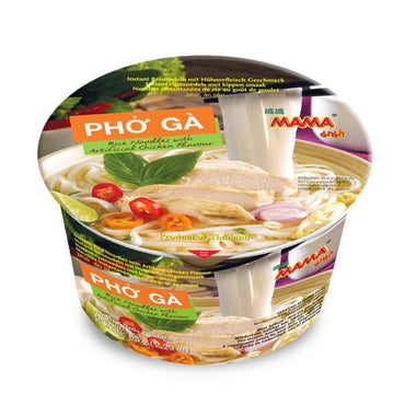MAMA Pho Ga Rice Noodles with Artificial Chicken Flavor