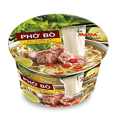 MAMA Pho Ga Rice Noodles with Artificial Beef Flavor