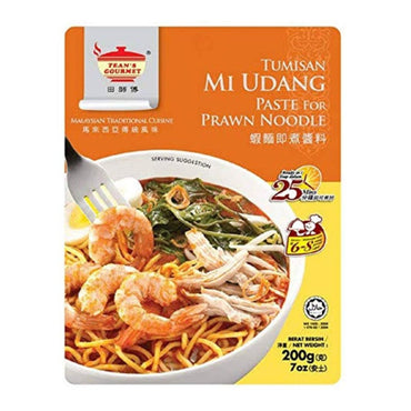 Tean's Gourmet Sambul Tumisan Paste for Prawn Noodle