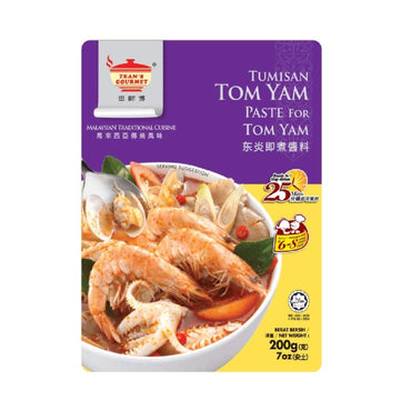 Tean's Gourmet Sambul Tumisan Paste for Tom Yam