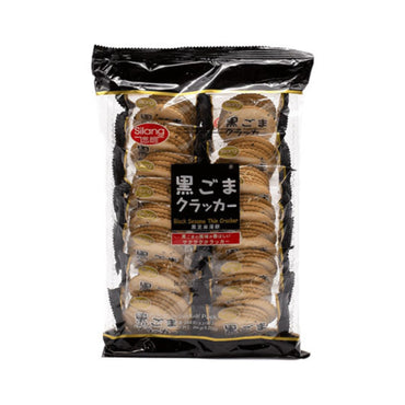 Silang Black Sesame Thin Crackers 黑芝麻薄饼