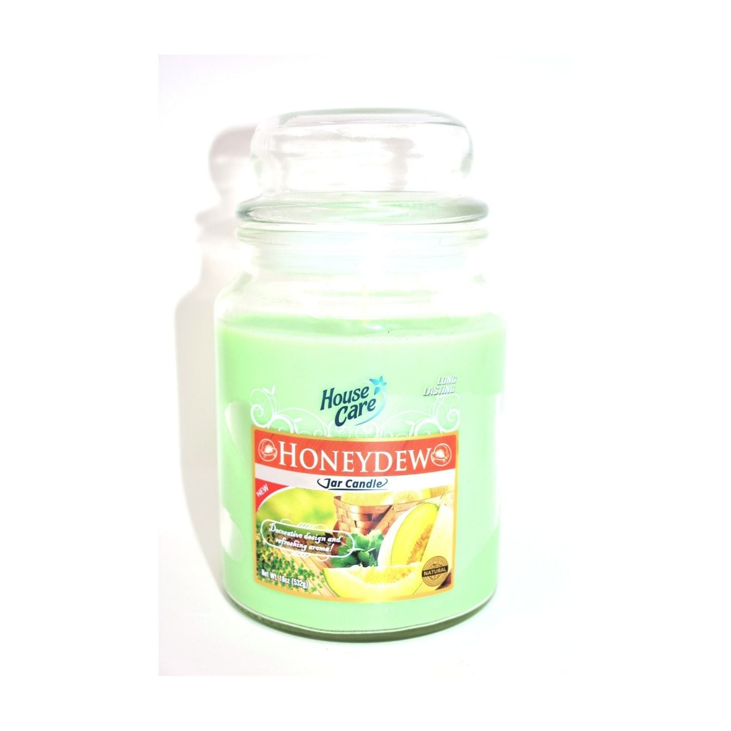 House Care Honeydew Jar Candle
