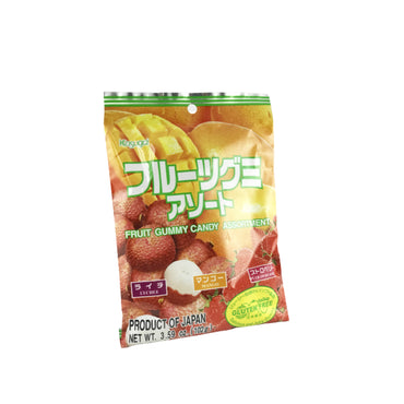 Kasugai Fruit Gummy Candy Assortment 3.59oz