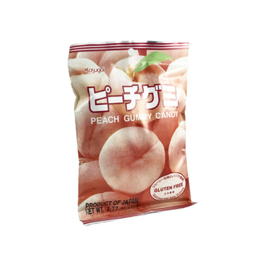 Kasugai Peach Gummy Candy 3.59oz