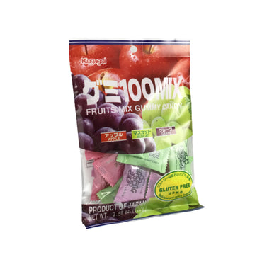 Kasugai Fruits Mix Gummy Candy 3.59oz
