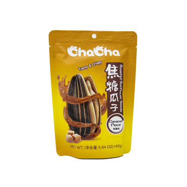 Cha Cha Roasted Sunflower Seed with Caramel flavor