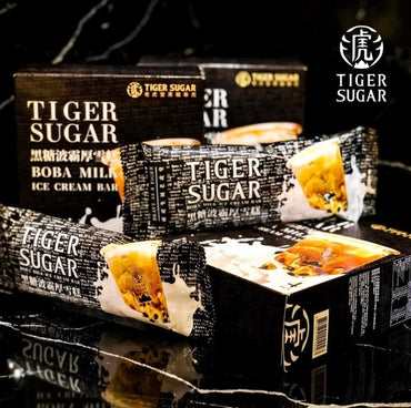 Tiger Sugar brown sugar boba ice cream