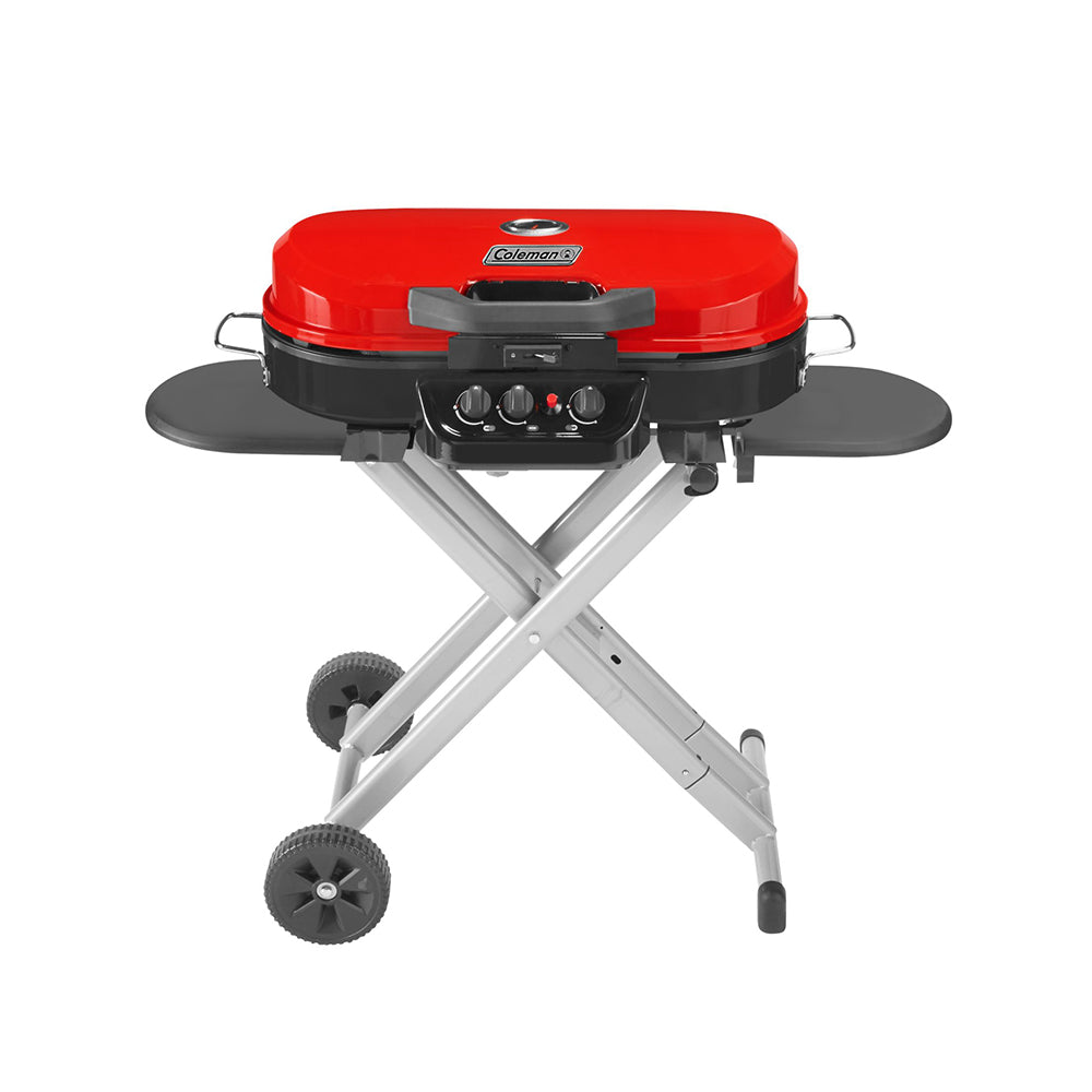 Coleman RoadTrip Grill 285 Standup Portable 3 Burner Barbeque