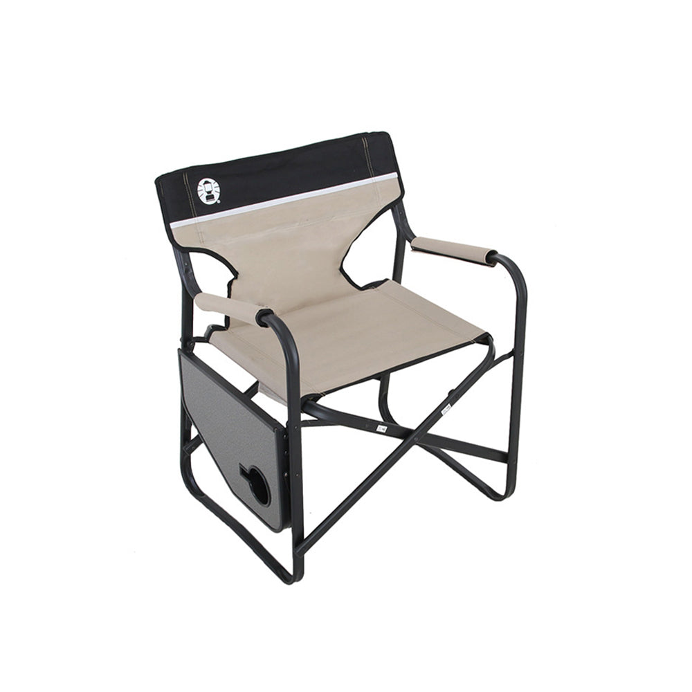 Coleman Directors Plus Chair with Side Table