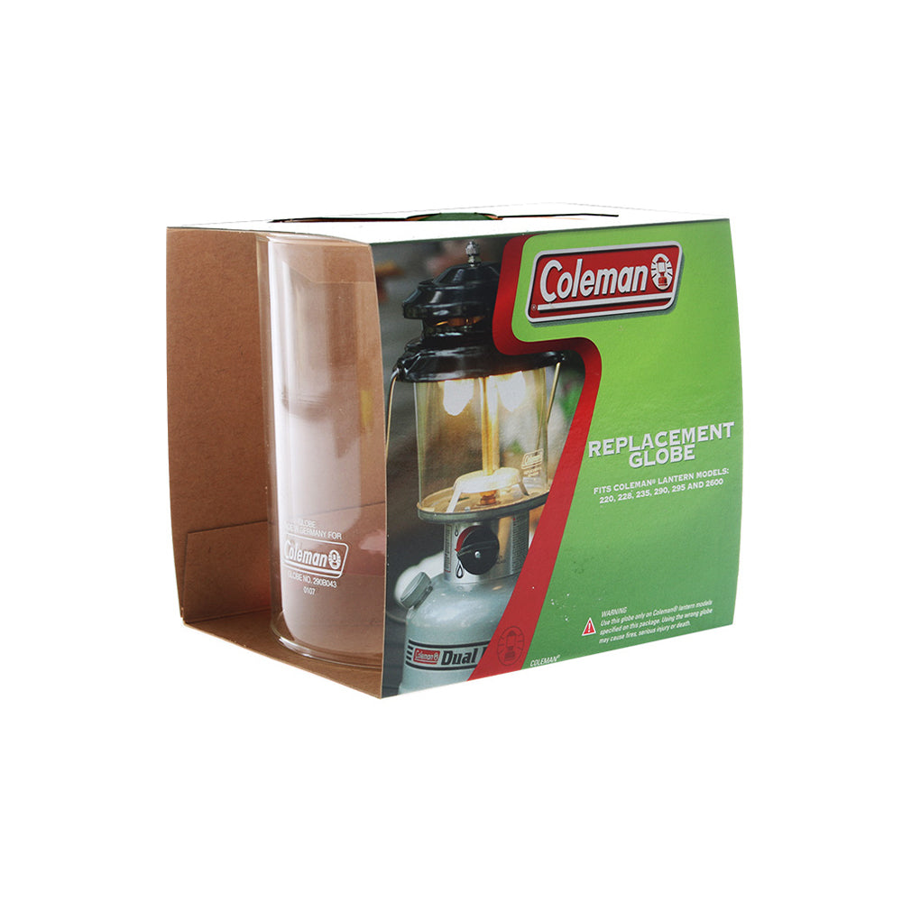 Coleman Clear Replacement Lantern Globe #330 Straight Wall