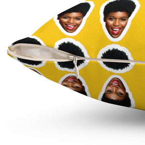 Personalized Face Pillow - MelaninBabesApparel