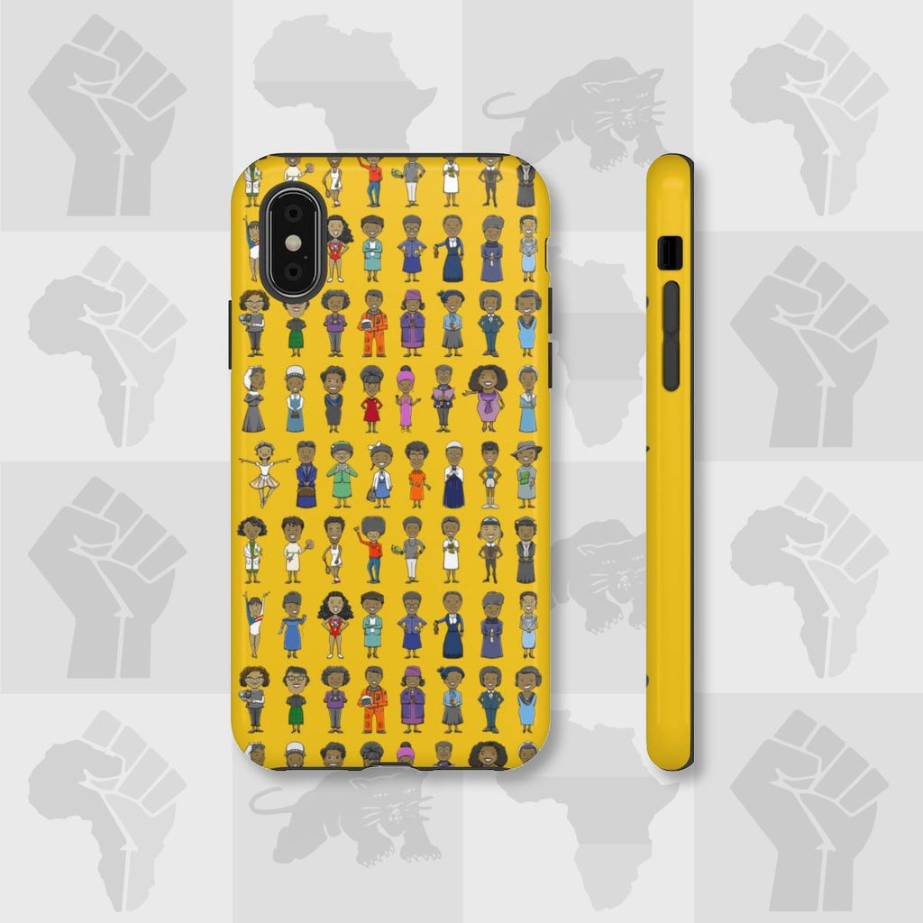 40 Black Women Icon in History Tough iPhone Cases - MelaninBabesApparel