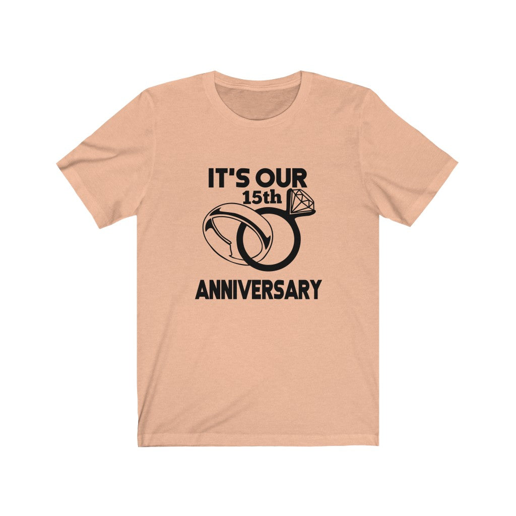 Personalized It's Our Anniversary Shirt - MelaninBabesApparel