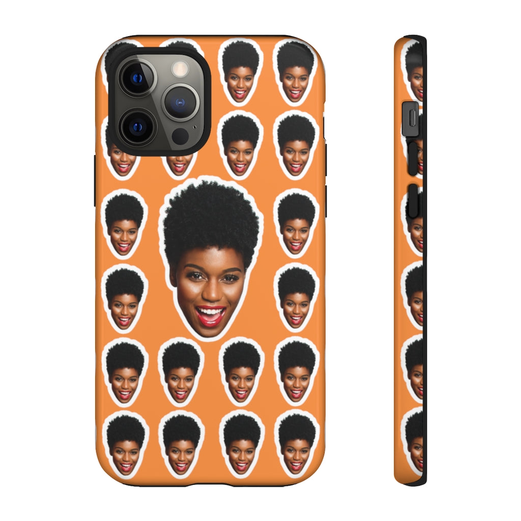 Personalized Face Tough Phone Cases - iPhones and Androids. Matte/Glossy - MelaninBabesApparel