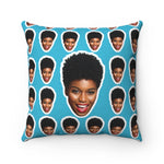 Load image into Gallery viewer, Personalized Face Pillow - MelaninBabesApparel