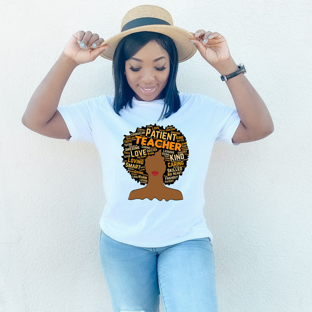 African American Teacher and Educator Appreciation T-Shirt - MelaninBabesApparel