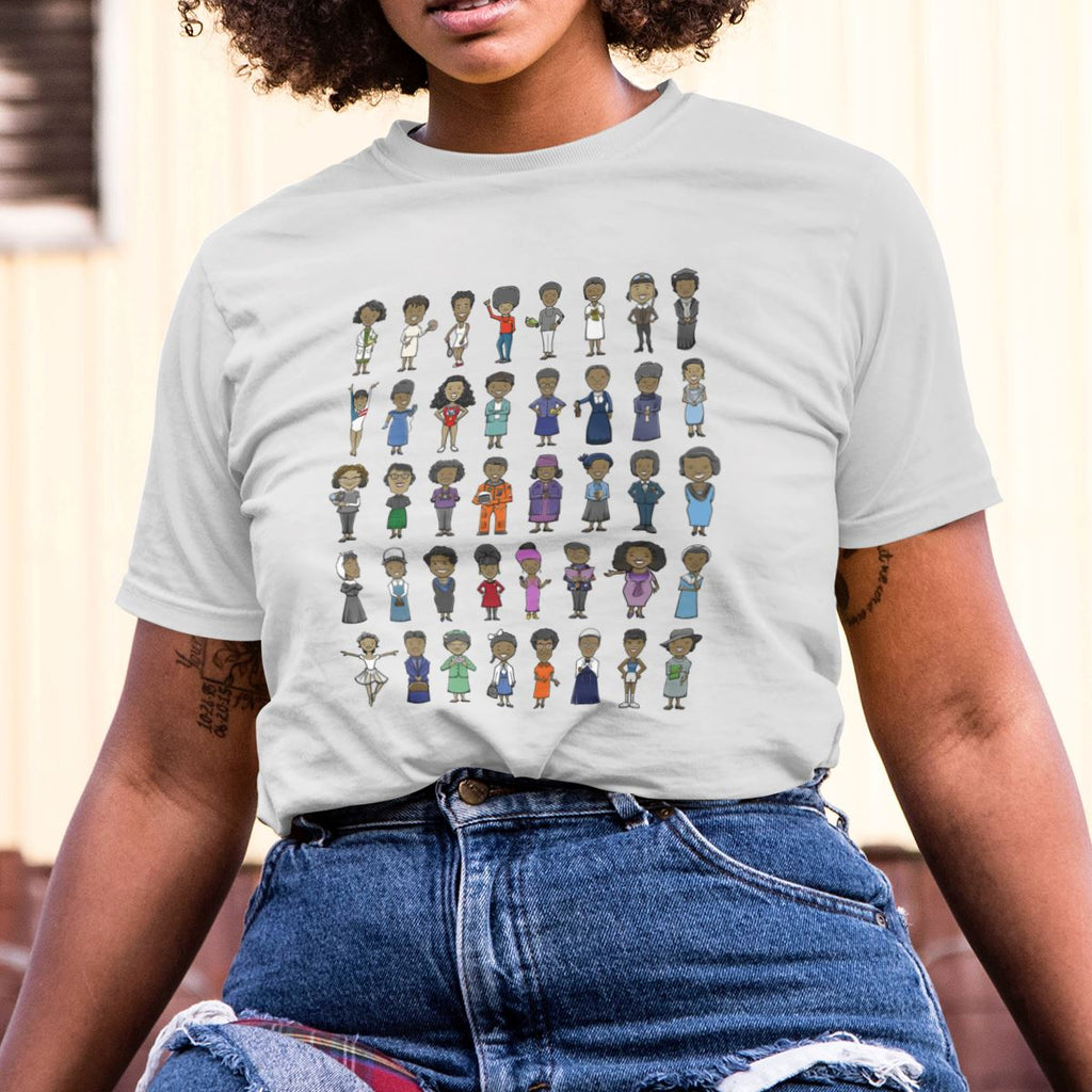 Influential Black Women in History Icon - MelaninBabesApparel