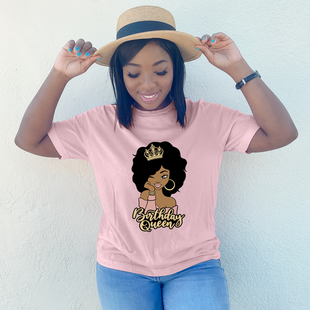 Birthday Queen Birthday Shirt - MelaninBabesApparel