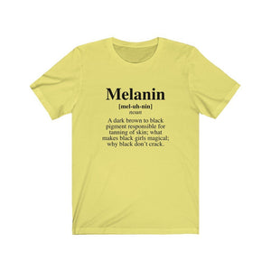 Melanin Definition Unisex T-Shirt - MelaninBabesApparel