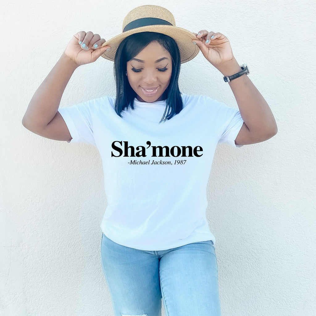 Sha'mone Michael Jackson Fan Shirt - MelaninBabesApparel