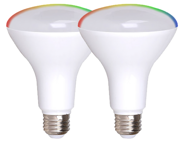 Simply Conserve BR30 Smart LED Flood (2 pack)