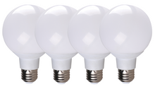 Simply Conserve G25 Globe 6W Dimmable Soft White Indoor (4 pack)