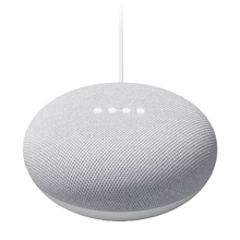 Google Nest Mini (2nd Generation) with Google Assistant - Chalk