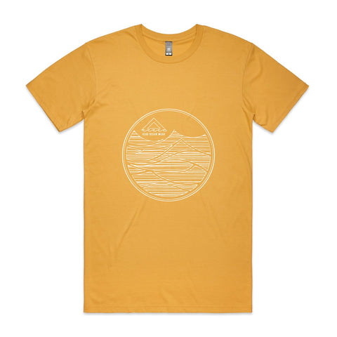 Men Groundswell Tee - Mustard