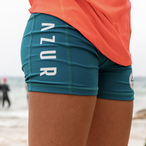 Women ECO Paddling Shorts - Peacock