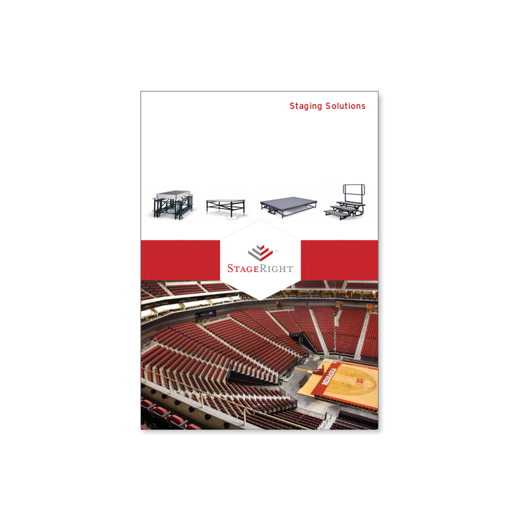 StageRight™ 2020 Catalog — Staging Products, Audience Risers, Music Risers and Acoustic Shells for Theaters and Performance Venues.