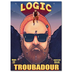Limited Ed. LOGIC Poster - Signed