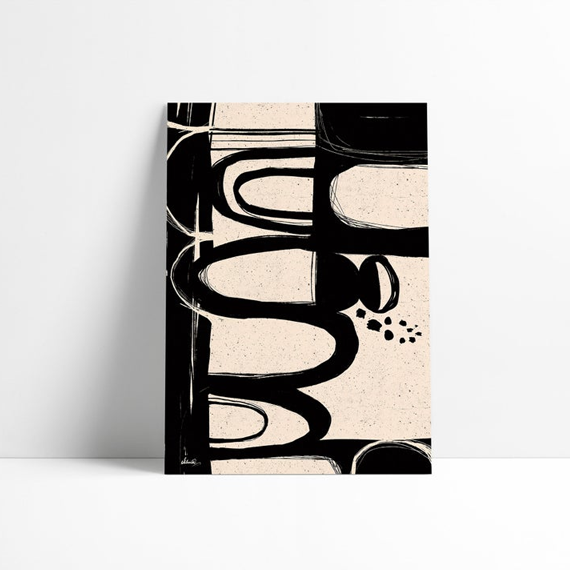 Black & White Patterns | Neutral Wall Art - SoulCurryArt