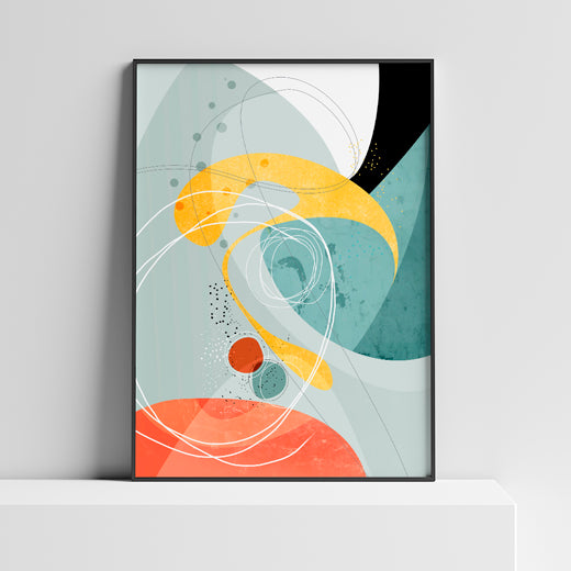Galactic - Set of 2 prints - SoulCurryArt