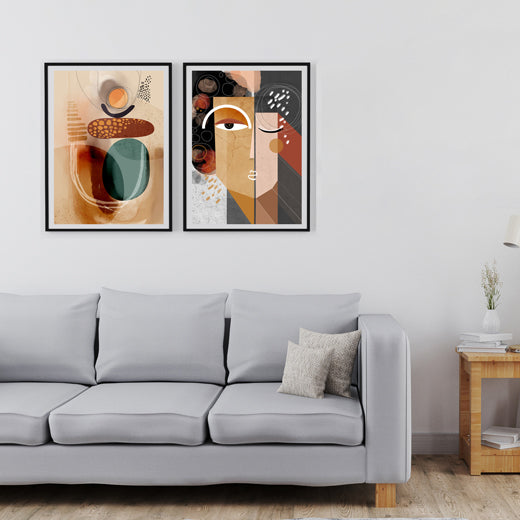 Earth Dunes - Set of 2 prints - SoulCurryArt