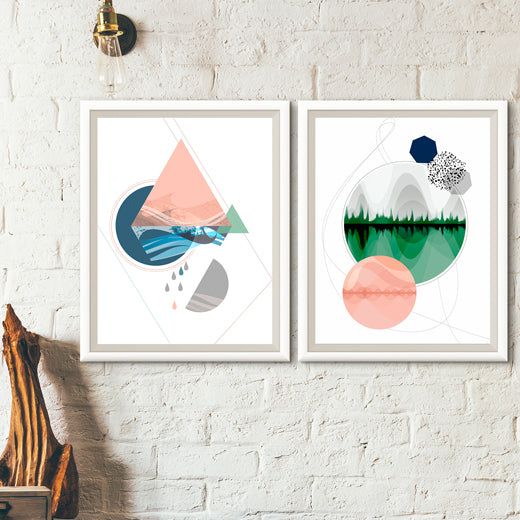 Elemental- Set of 2 prints - soulcurryart