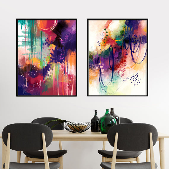 Wild Forests - Set of 2 prints