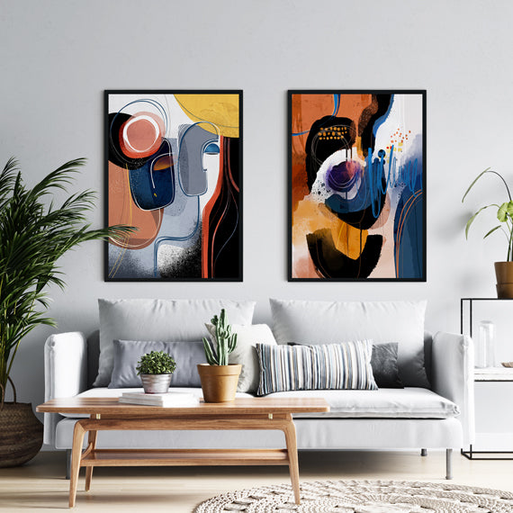 Islands - Set of 2 large prints - SoulCurryArt