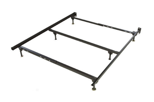 Queen metal Bed frame with center support