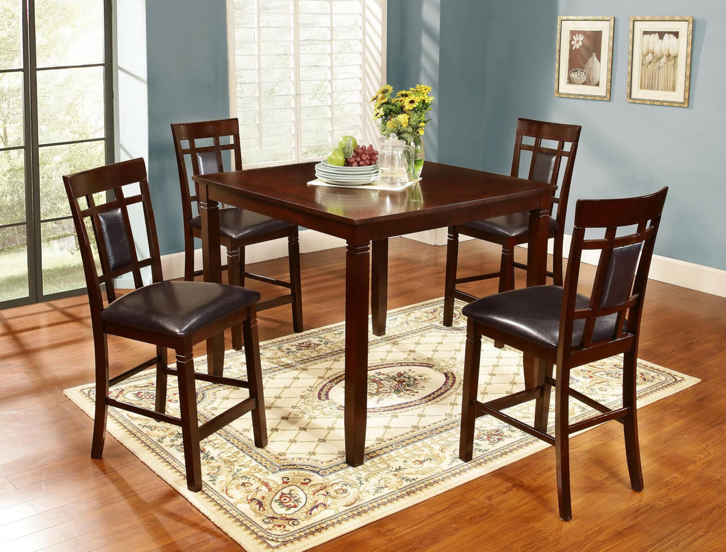 5 Piece high Cherry table