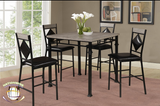 Grap PVC 5 PC Table Set