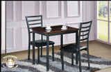 Glossy Black 3 PC Table Set