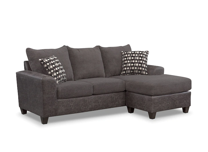 2 piece brown sectional