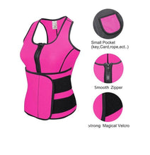 Load image into Gallery viewer, Neoprene Hot Sweat Adjustable Waist Trainer Corset