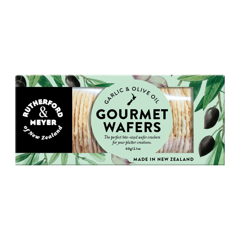 Gourmet Wafers – Garlic & Olive Oil