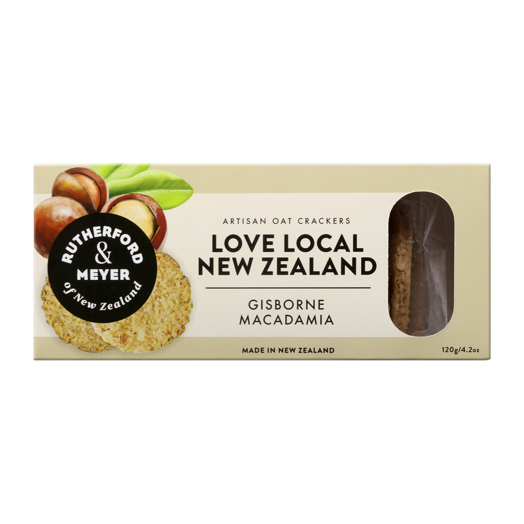 Love Local NZ Oat Crackers – Gisborne Macadamia