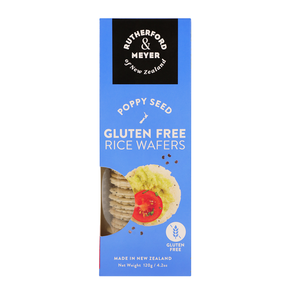 Rice Wafers – Poppy Seed
