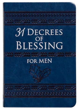 31 Decrees of Blessing For Men by Robert Hotchkin Book